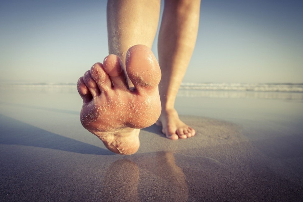 dedos del pie