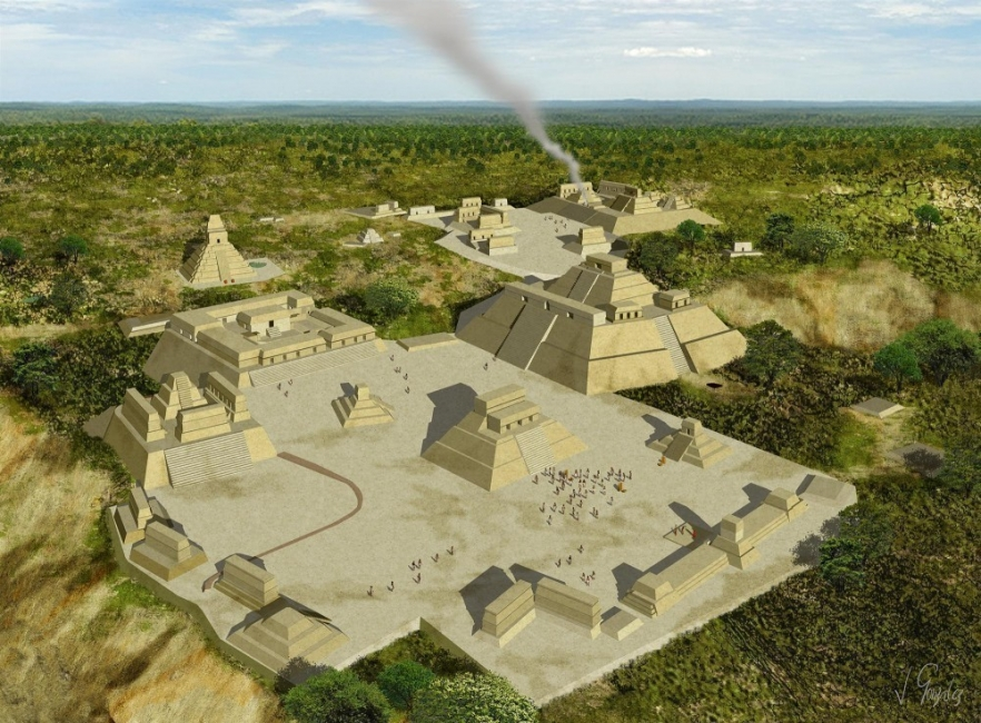 tumbas maya
