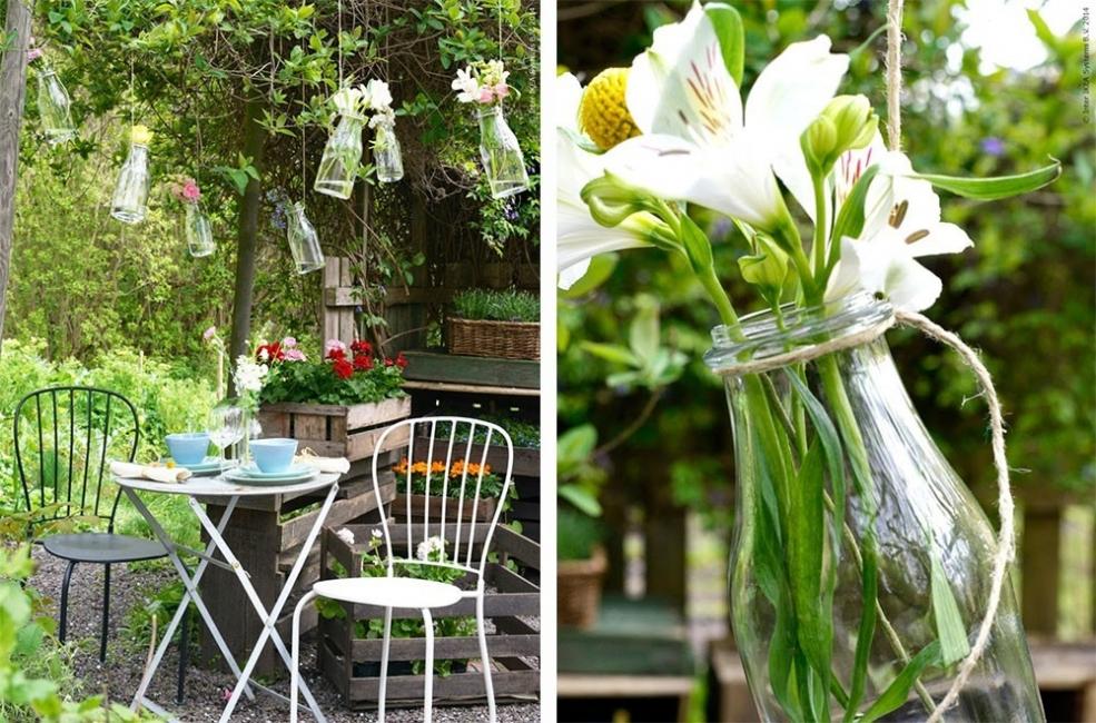18 ideas para decorar patios y jardines for Ideas para decorar antejardin