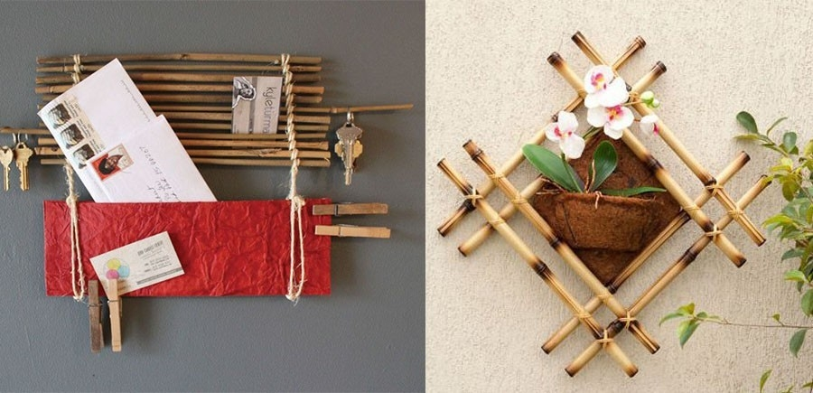 15 ideas para decorar con bamb - Bambu para decorar ...