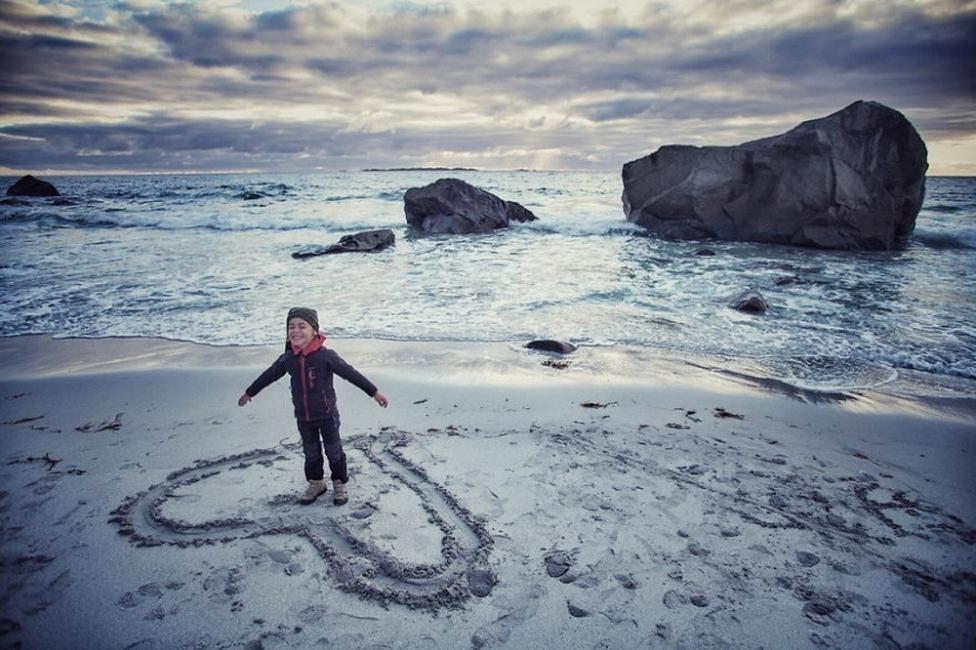 viajar con un niño pequeño- Noruega