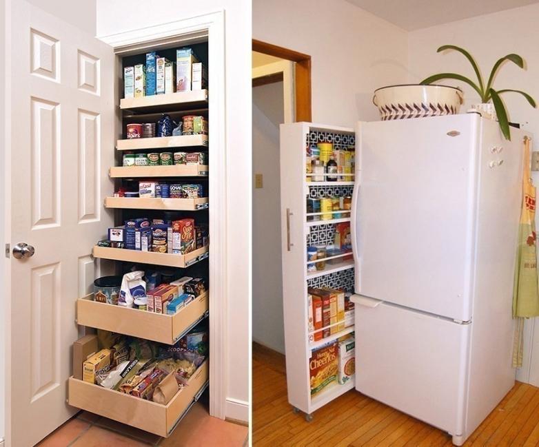 ideas para cocinas- aprovechar espacios