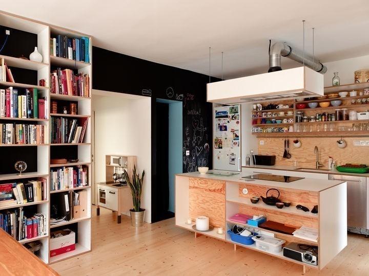 Muebles de contrachapado