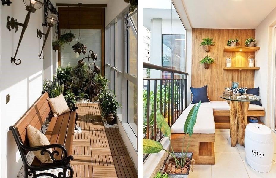 galerías, balcones internos