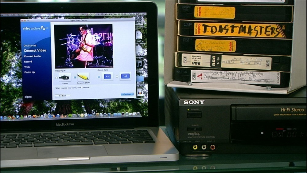 VHS en tu computadora - pasar a la computadora