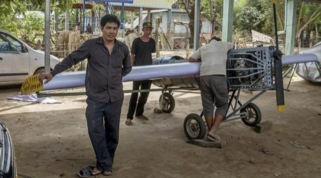 Paen Long, mecánico camboyano