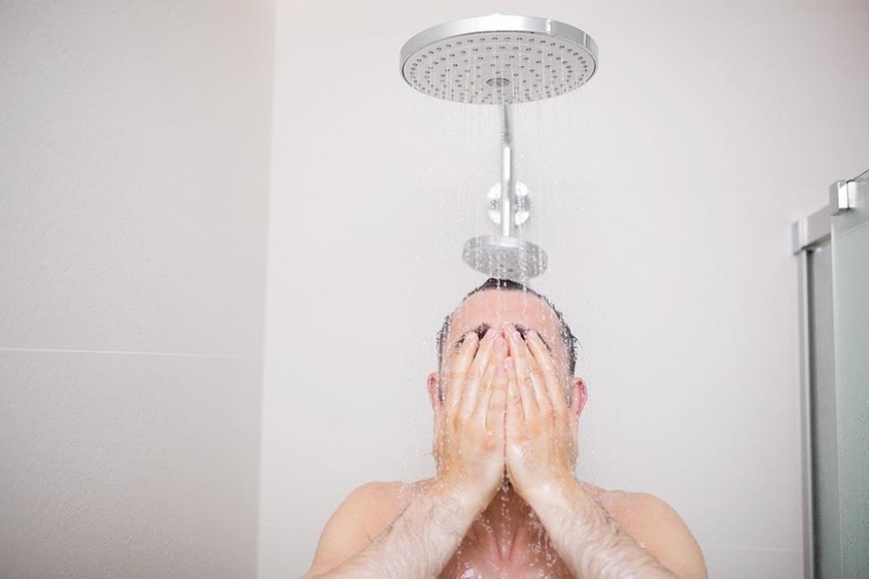 ducha relajante