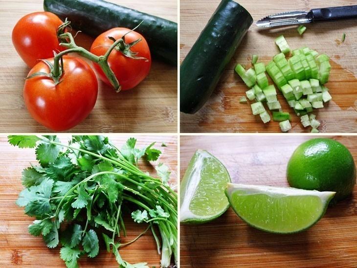 ensalada diurética- ingredientes