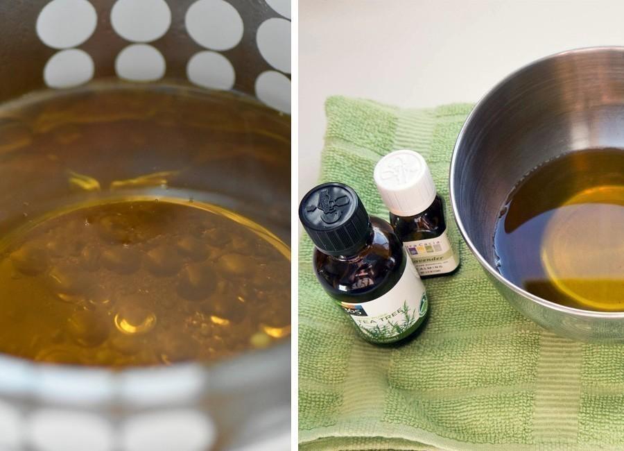 Cómo hacer una pomada antiséptica casera y natural- preparación