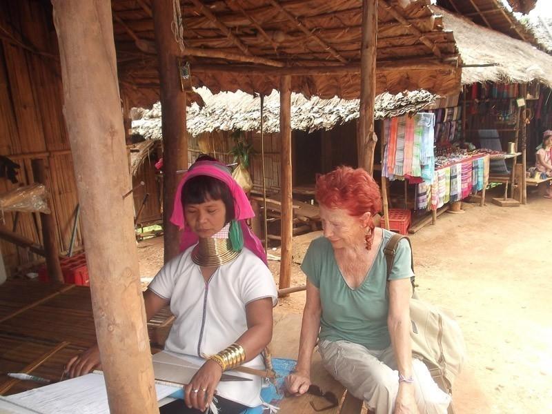 abuelita mochilera- viajar jubilado