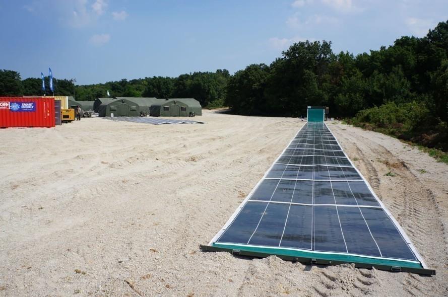 energia solar paneles alfombra