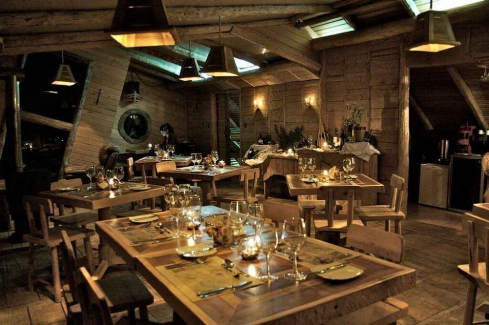 Espejo de Luna Eco Hotel en Chiloé - restaurante