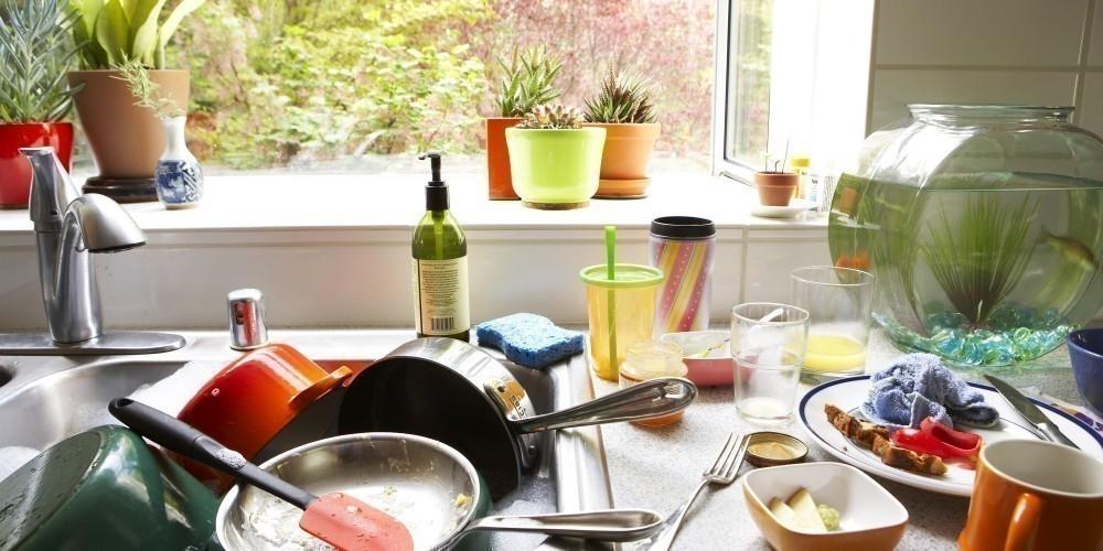 desorden cocina