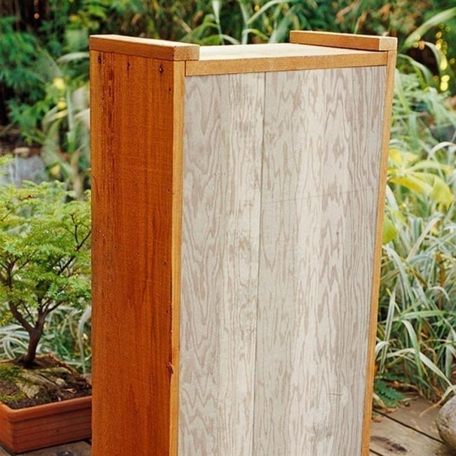 fuente para patios, balcones o terrazas- construir la caja