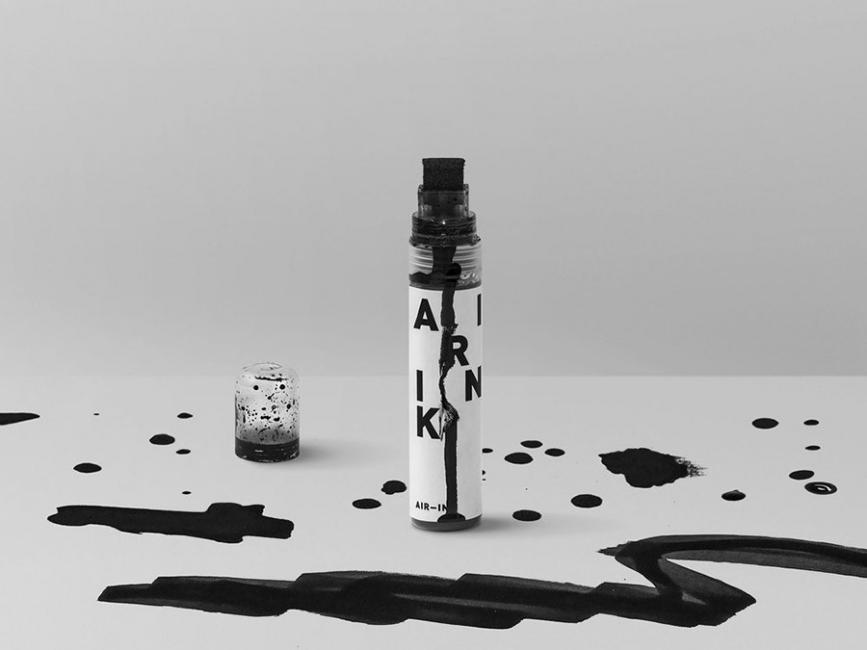 Lápices ultraecológicos hechos a base de la contaminación del aire