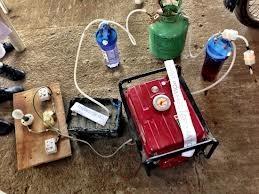 generador funciona con orina