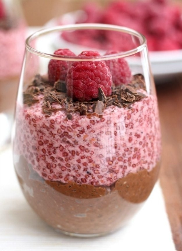 Antojos saludables- Pudin de chia y chocolate