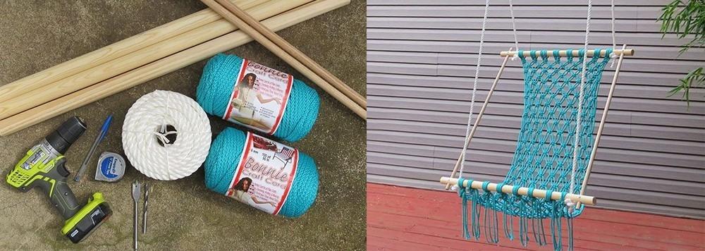 como hacer cuerda con hilo