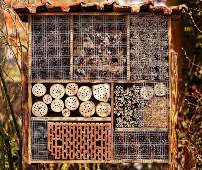 hotel para abejas- diy