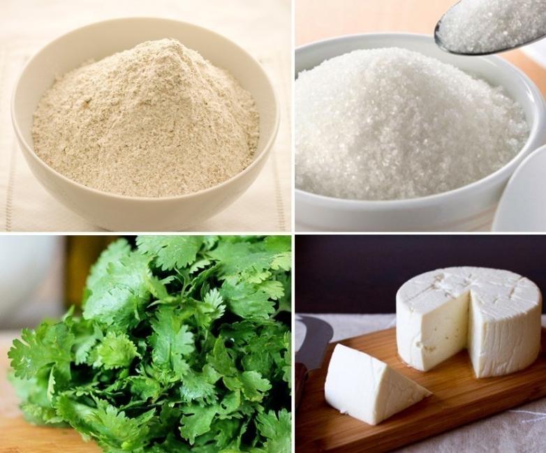 pan de pita relleno - ingredientes