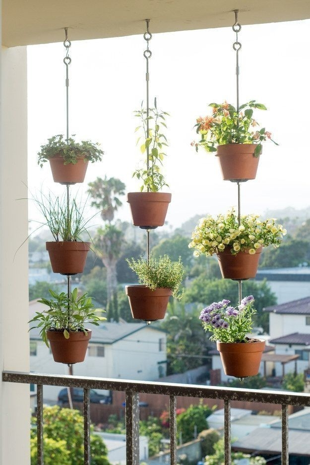 ideas para decorar con plantas - jardin vertical