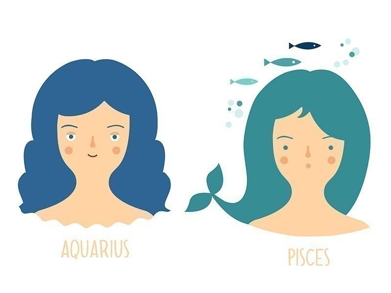 Cómo eres en el amor según tu signo acuario piscis