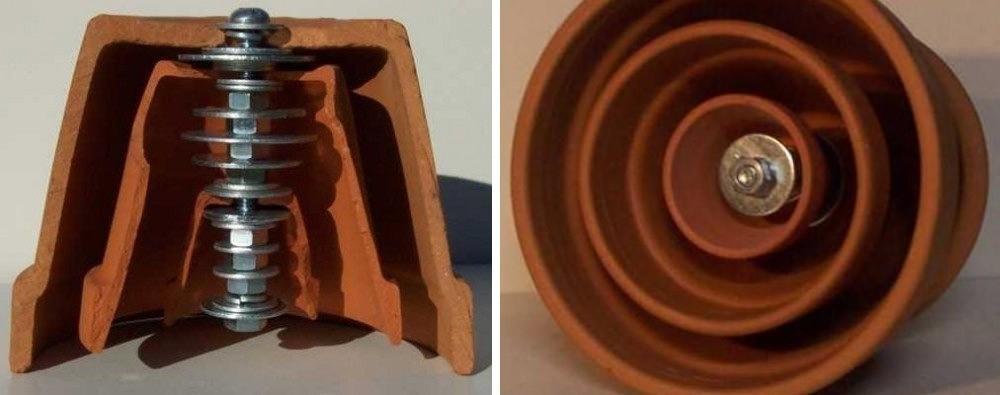 hacer calentador ecológico con macetas-procedimiento