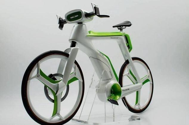 Una bicicleta ecológica que purifica el aire que respiras mientras pedaleas