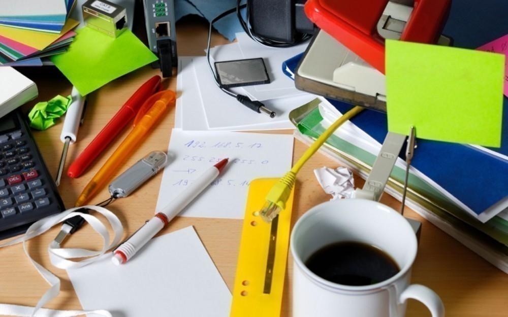 desorden - espacio de trabajo