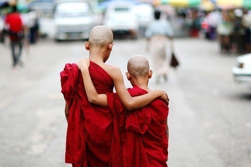 Budismo monjes
