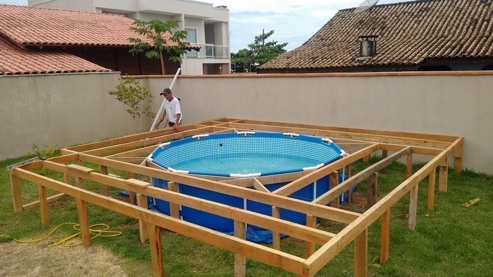 C mo hacer una cubierta econ mica para tu piscina for Hacer piscina economica