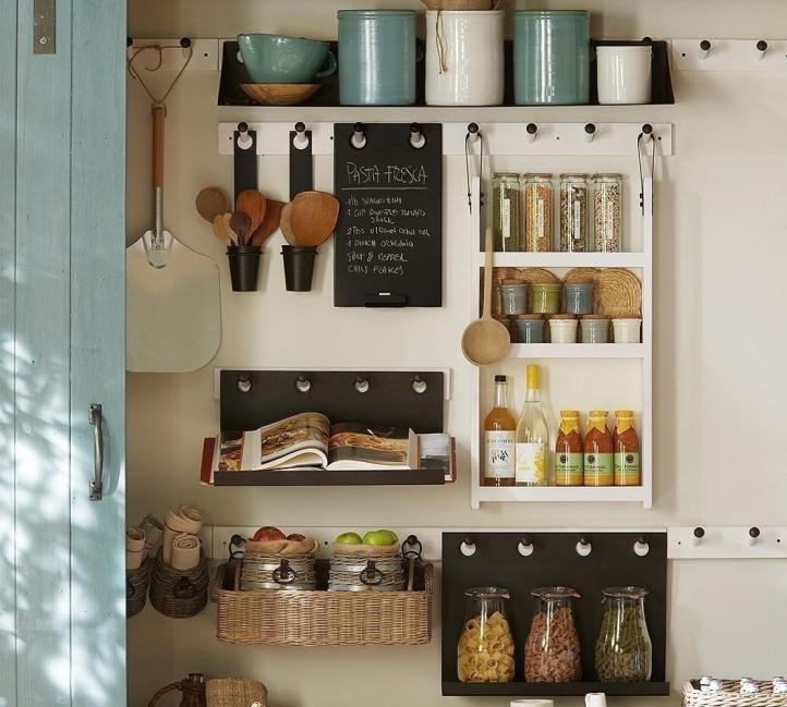 ideas para cocinas pequeñas - organizar