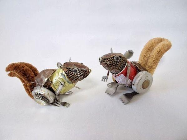Natsumi Tomita Esculturas Recicladas 5