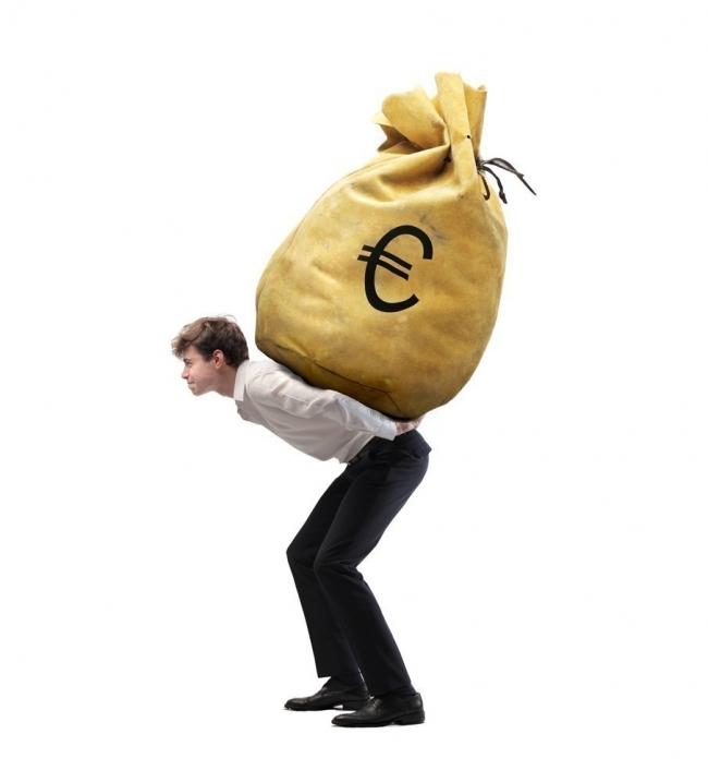 espalda baja- dinero