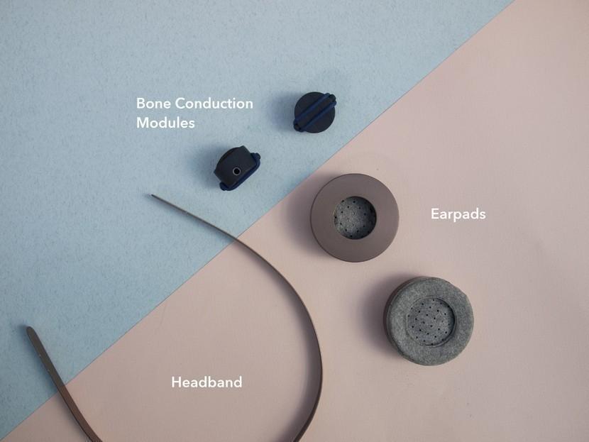 auriculares seguros para ciclistas- Save + Sound- Gemma Roper - conducción ósea