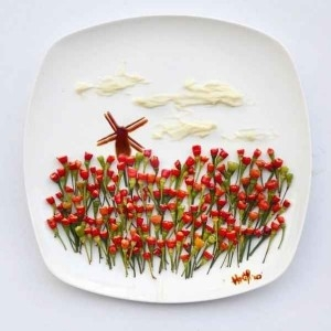 Originative food art created by Hong Yi 14