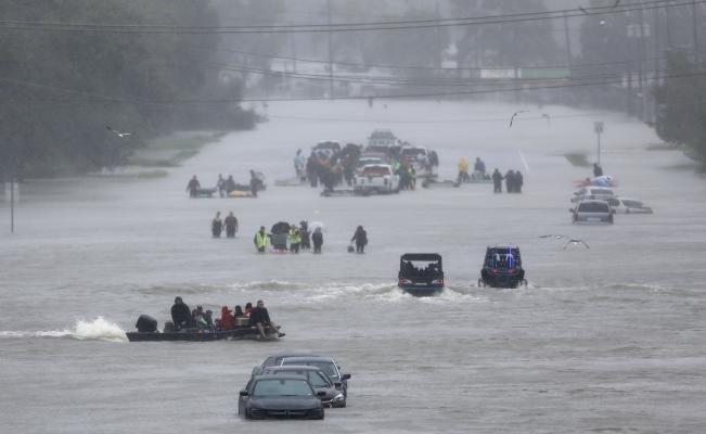 El huracán Harvey se formó desde mediados de agosto