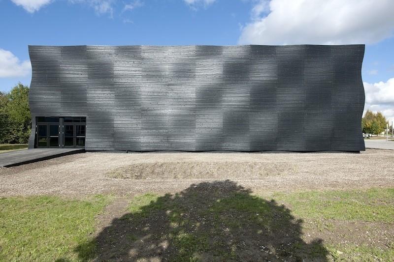 Técnica japonesa para conservar la madera-edificio Alemania