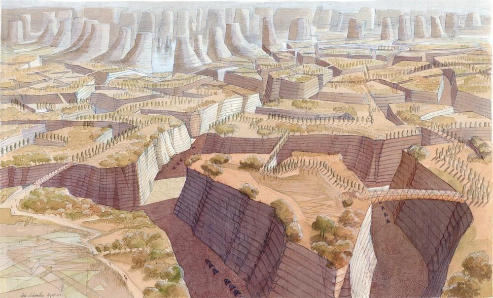 Luc Schuiten - El urban-cañón