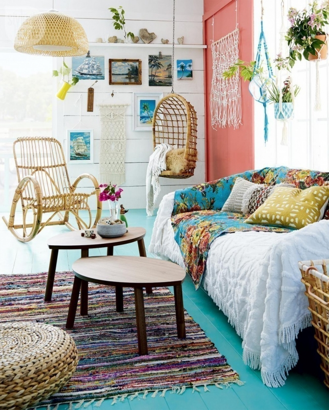 Ideas para decorar tu casa con estilo bohemio for Ideas para decorar habitacion hippie