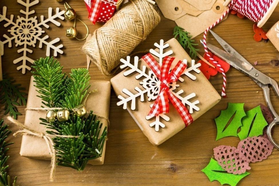 navidad sustentable - papel reciclado