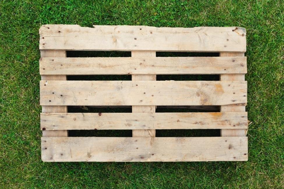 deck cobertor para piscina de lona - materiales - pallet