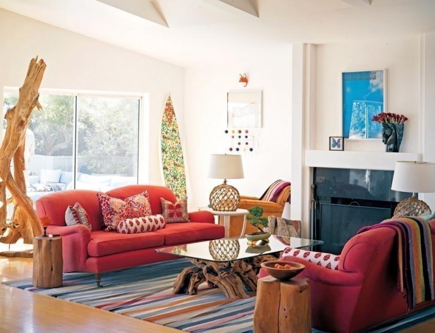 Ideas para decorar tu casa con estilo bohemio- living