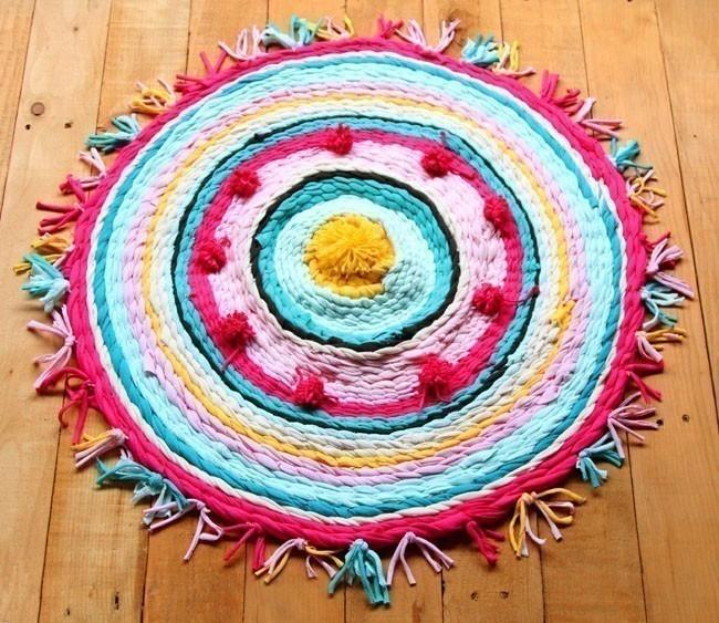 alfombra de tela hula