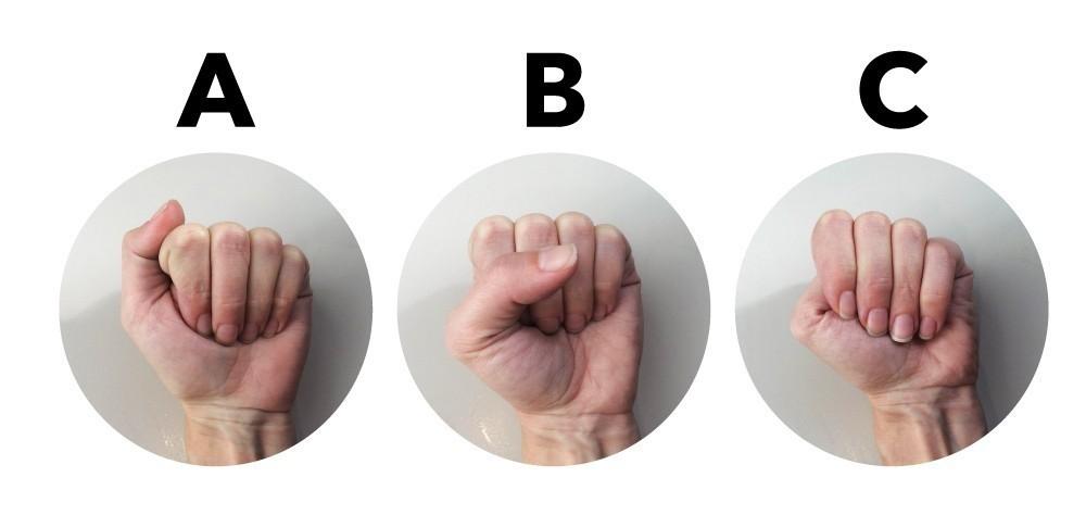 test cómo es tu personalidad según cómo cierras el puño