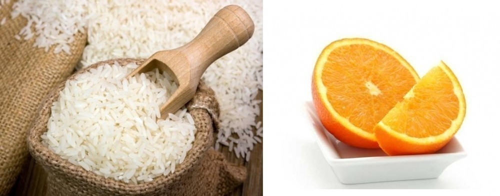 arroz a la naranja ingredientes