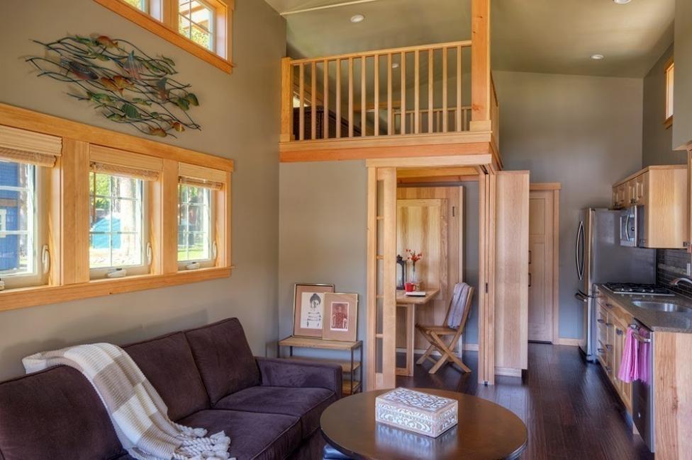 casa eficiente y multifuncional para vivir- interior