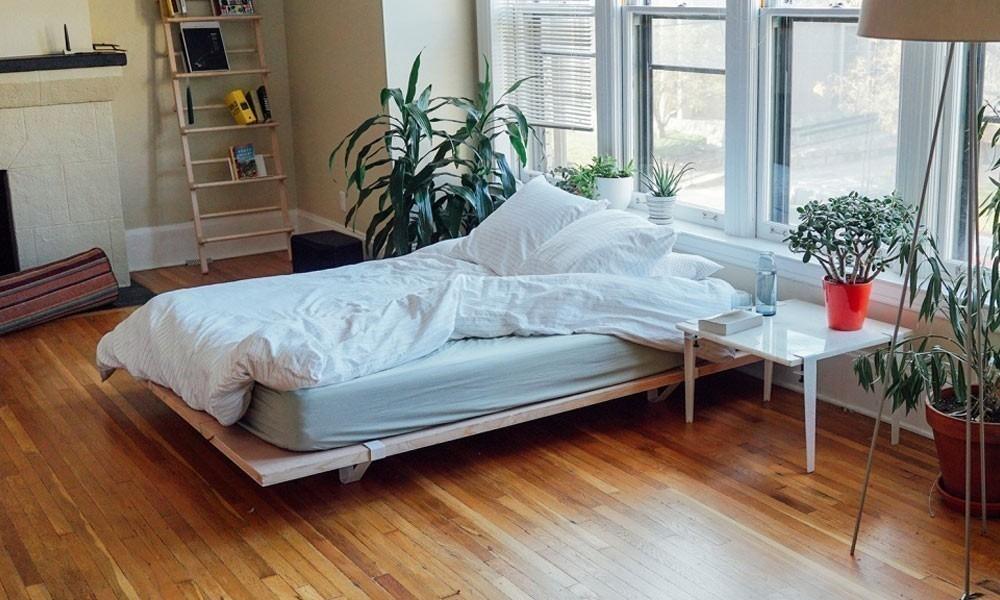 Cómo construir una base para tu cama fácilmente- terminado