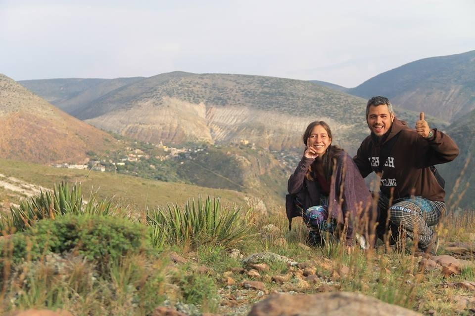pareja que recorre Latinoamérica- paisajes