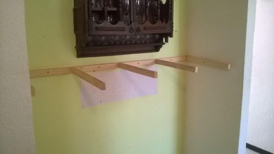Cómo construir un mueble empotrado- estructura